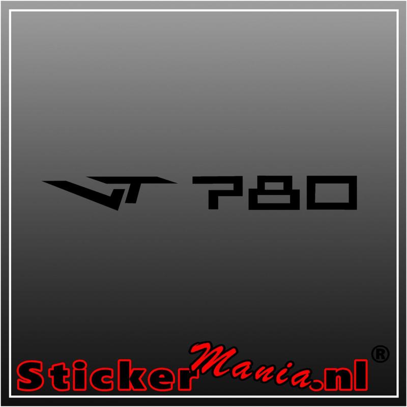 Van Tuyl VT 780 sticker