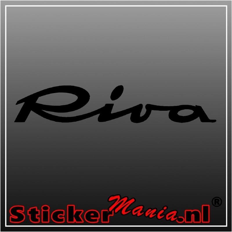 Riva sticker