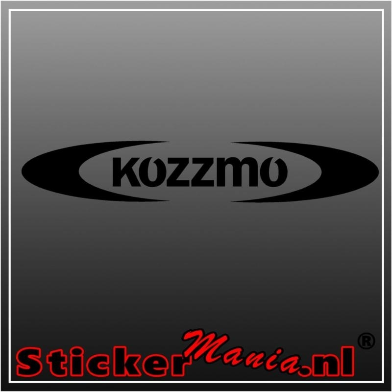 Kozzmo sticker