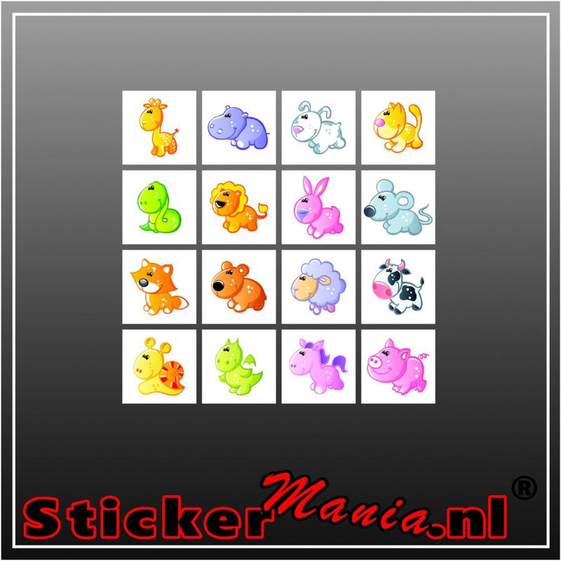 Beloning-sticker set 2