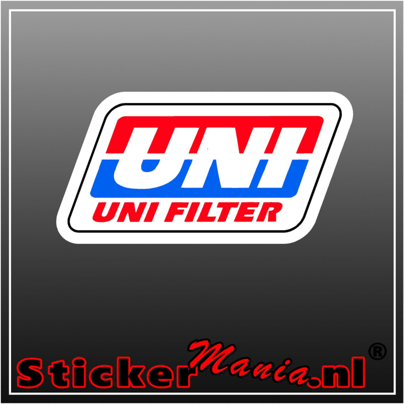 Uni filter full colour sticker