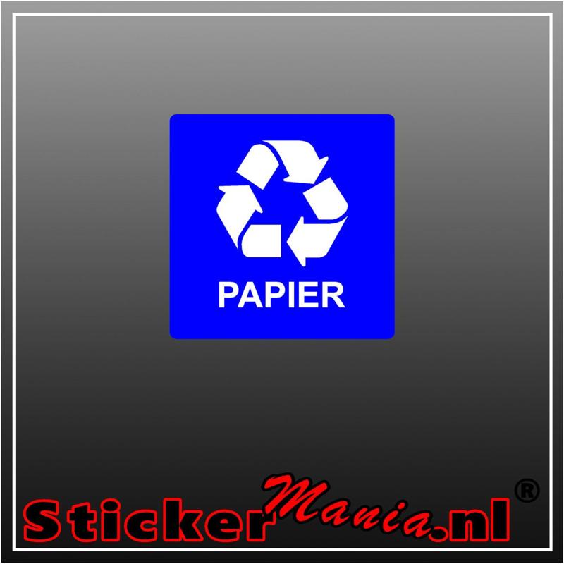 Papier vierkant
