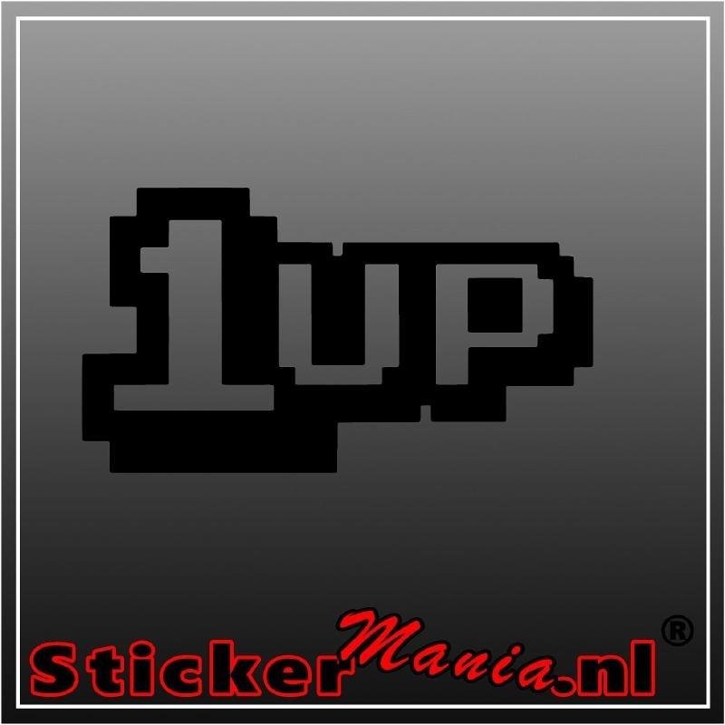 1UP sticker