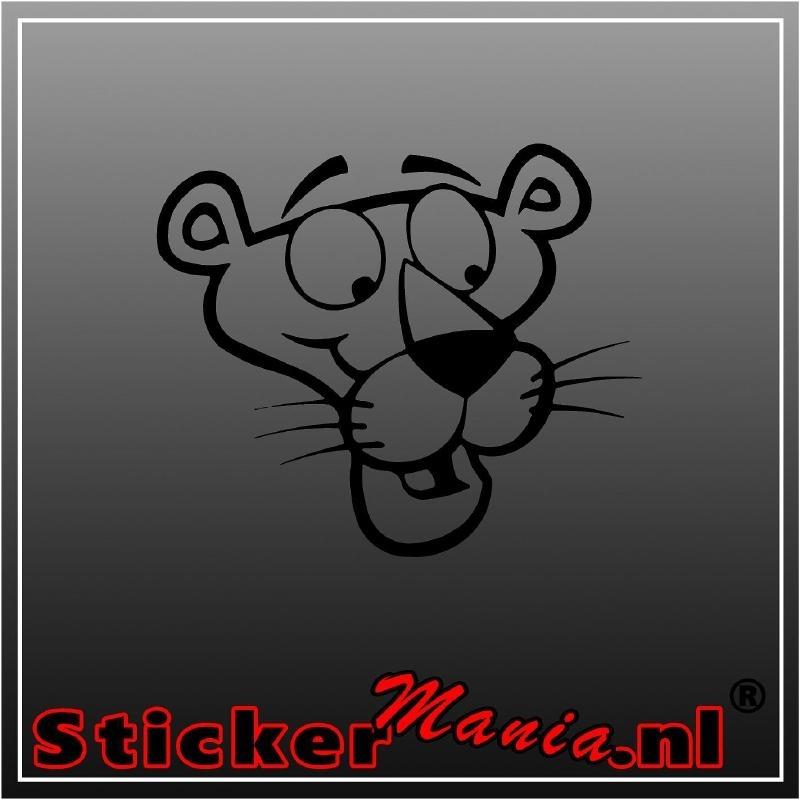 Pink panther 1 sticker