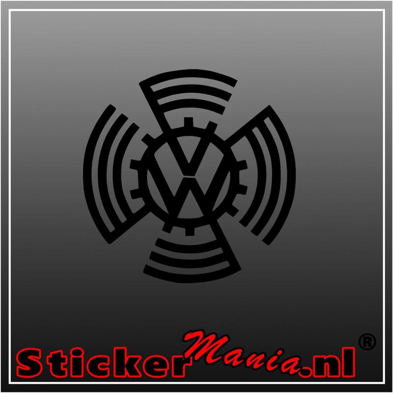 Volkswagen logo 1937 - 1939 sticker