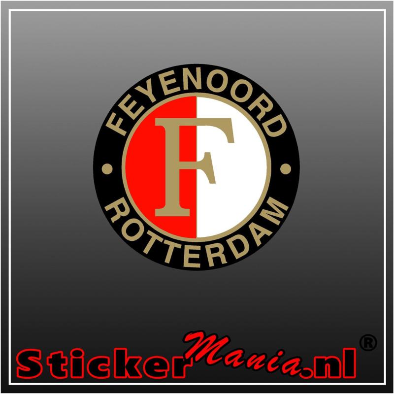Feyenoord logo 2 Full Colour sticker