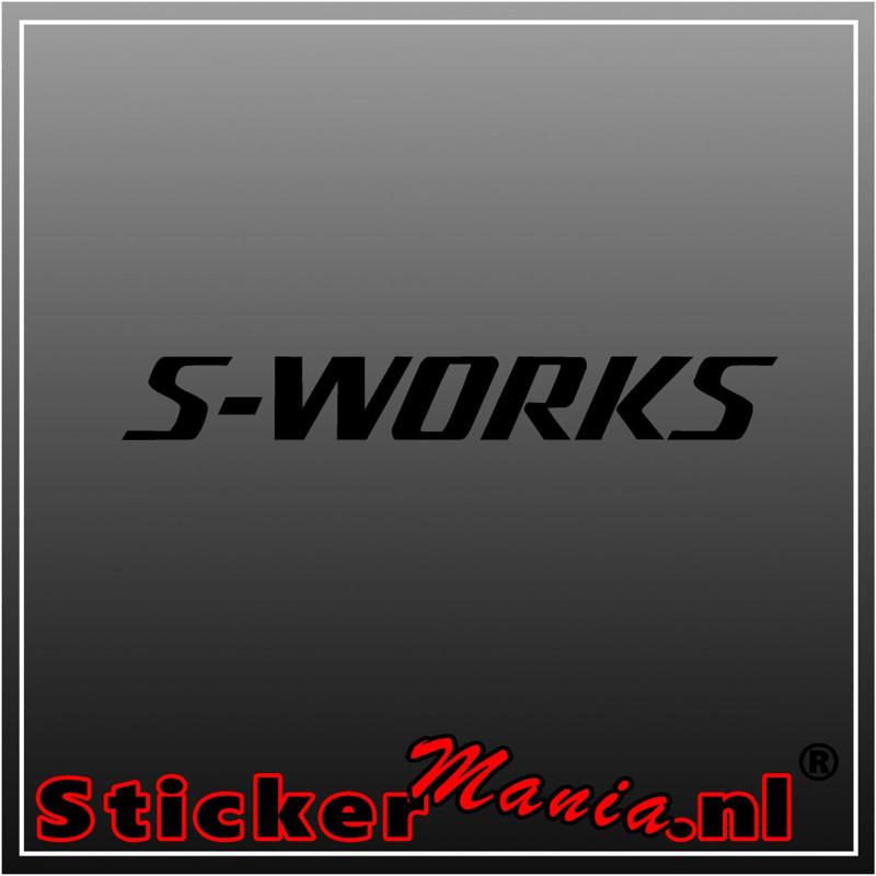S-works sticker