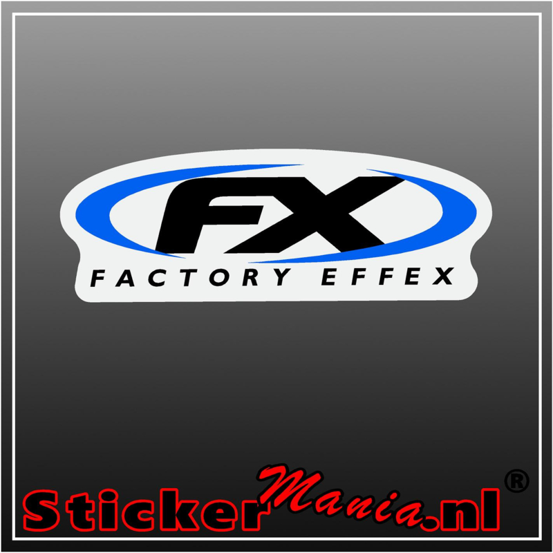 FX factory effex full colour sticker