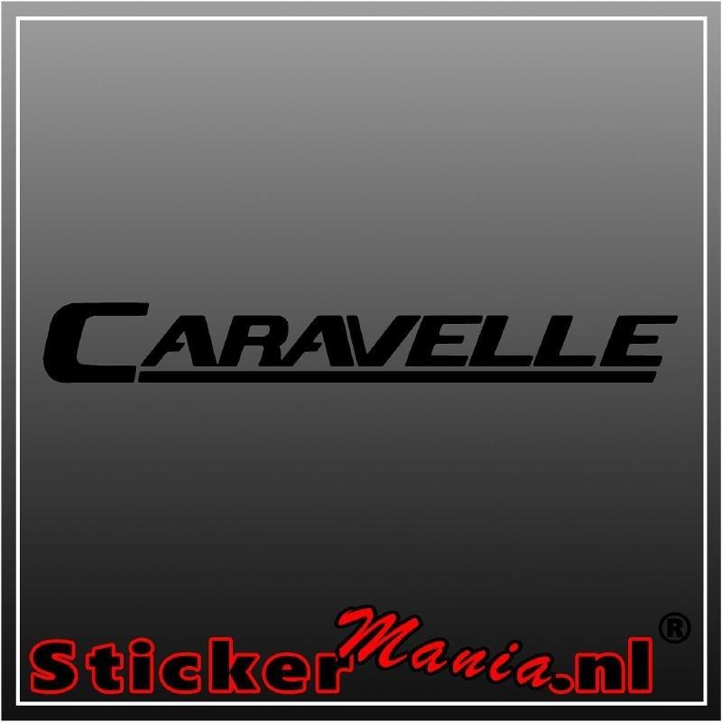 Caravelle sticker