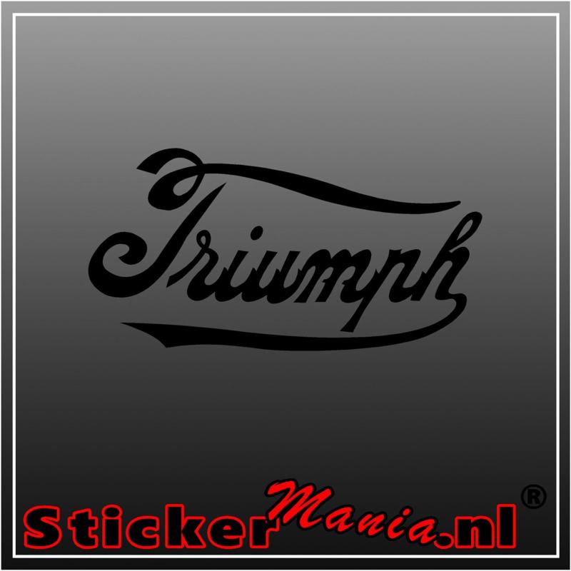 Triumph 2 sticker