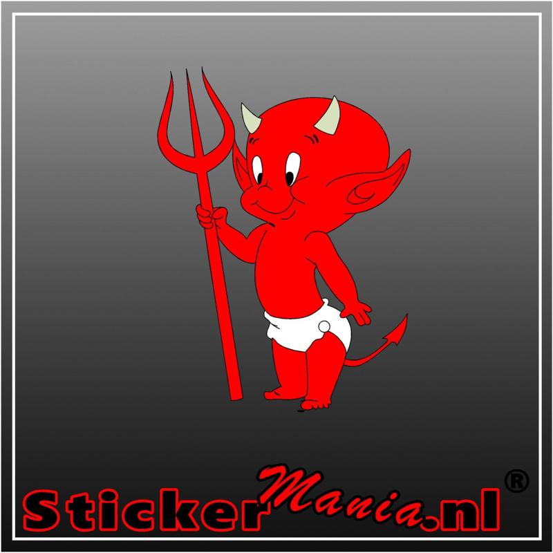 Devil 2 full colour sticker