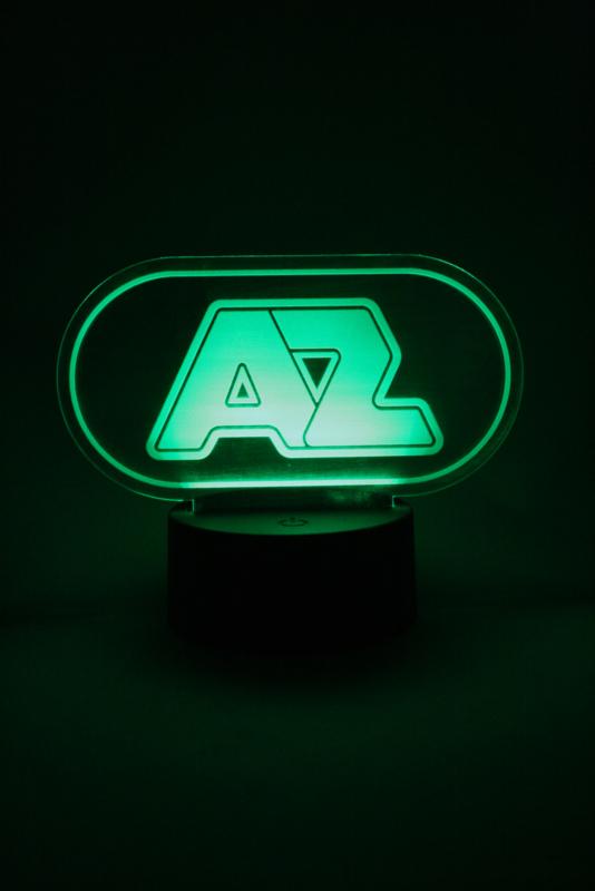 AZ logo led lamp