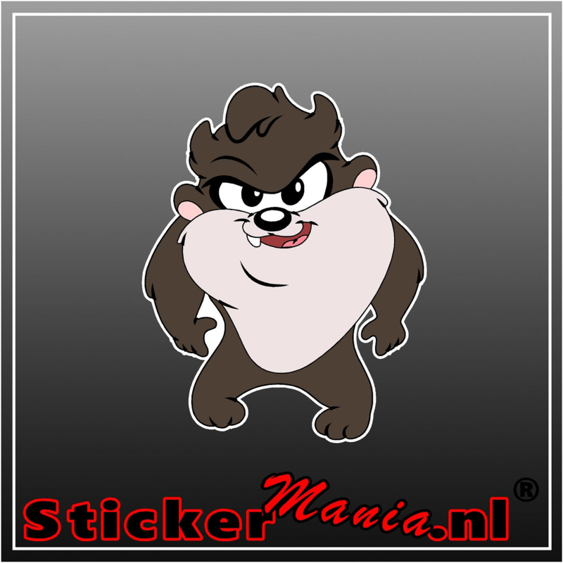 Baby Tasmanian Devil 2 Full Colour sticker