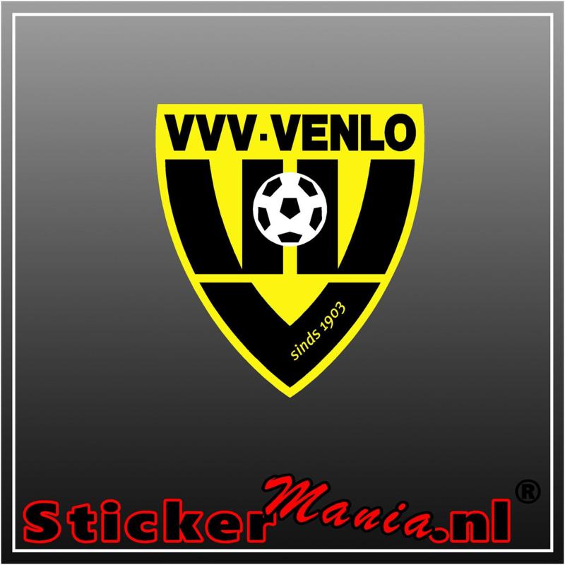 VVV Venlo full colour sticker