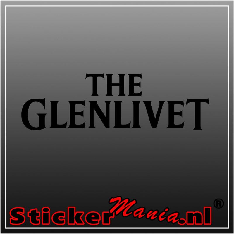The glenlivet sticker