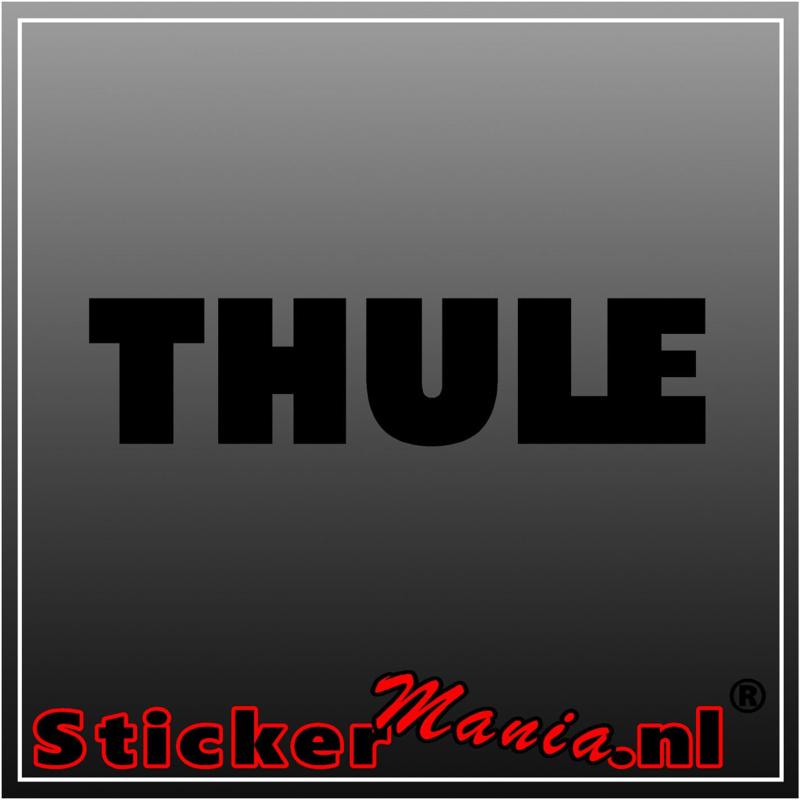 Thule sticker