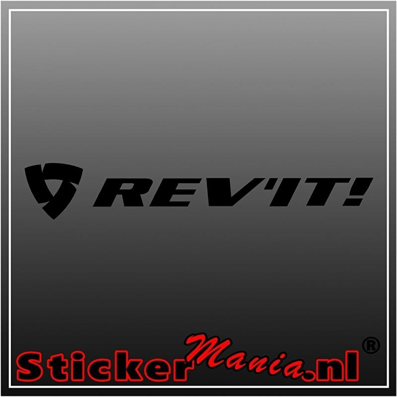 Rev'it sticker