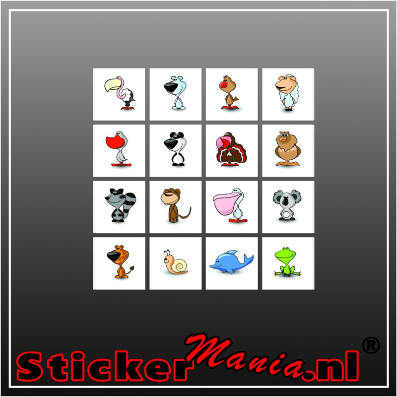 Beloning-sticker set 5