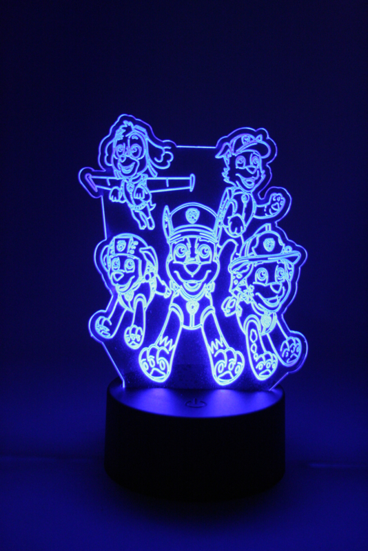 Paw patrol led lamp