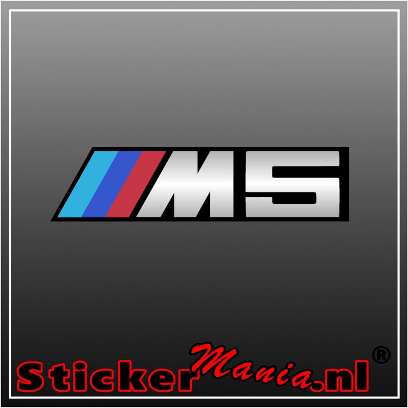 BMW M5 Full Colour sticker