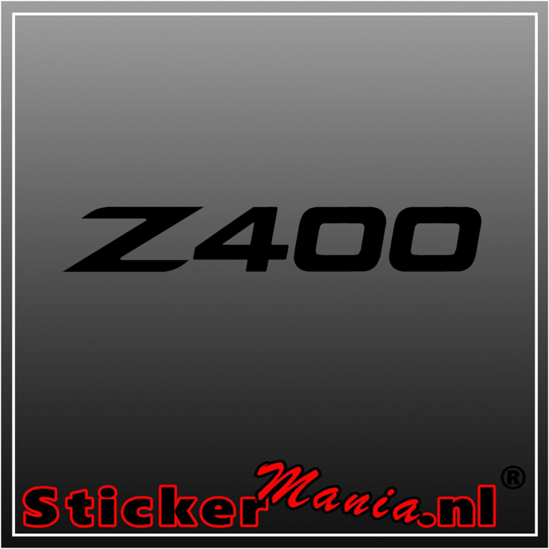 BMW Z400 sticker