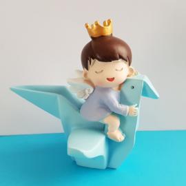 1 figuur Prins baby 8cm