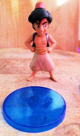 1 figuur Aladdin 8 cm met staand - top kwaliteit