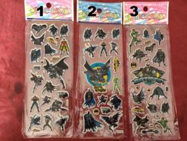 1 stickervel Batman