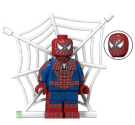 1 poppetje Spiderman b