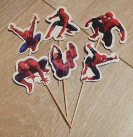 prikkers Spiderman B (set van 6)