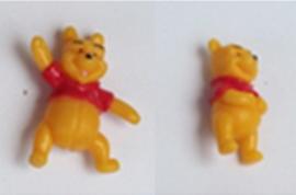 10 mini figuren Winnie Pooh 2cm