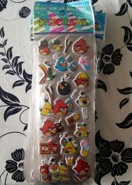 1 stickervel Angry Birds E