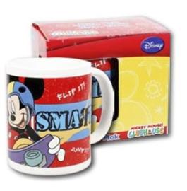 1 Porselein mok met doos Mickey Mouse