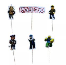 prikkers Roblox (set van 6) - stokje naar keuze