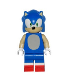 1 poppetje Sonic