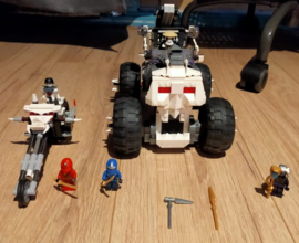 Lego Ninjago Skeleton Jeep en Motor tweede hands