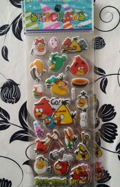 1 Stickervel Angry Birds D