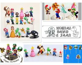 Super Mario Bros - complete lijst