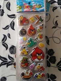 1 Stickervel Angry Birds C