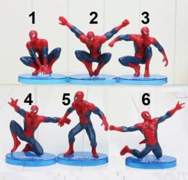 1 figuur  Spiderman 7-10cm naar keuze