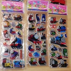 1 stickervel Thomas the train