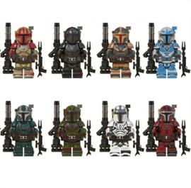 1 figuur Mandalorian B (Heavy Infantry) - naar keuze