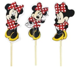 1 set Prikkers Minnie 3st.) - stokje naar keuze