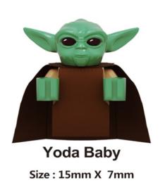 1 mini figuur Yoda baby