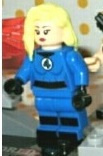 1 poppetje Fantastic Four - Invisible Woman