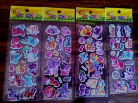1 stickervel My Little Pony