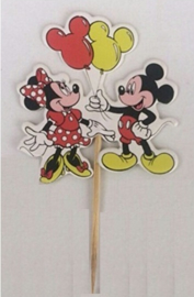 1 Prikker Mickey en Minnie A