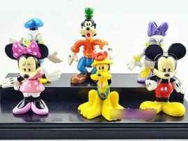set A 6 figuren Mickey & Co. 6-7cm