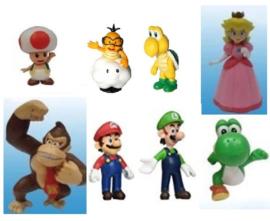 set D 8 figuren  Mario 5-7cm