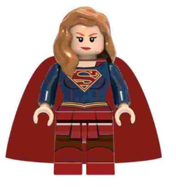 1 poppetje Supergirl - compatibel met Lego